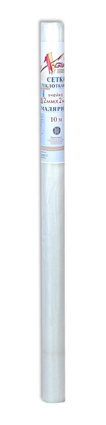 Сетка малярная 2*2, 45 гр/м2, 10м*1м